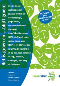 GroenTalent leaflet