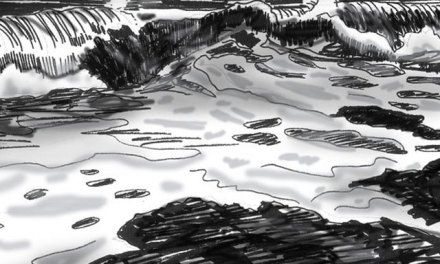 Starting A Seascape Painting – The First Step is a Value Sketch