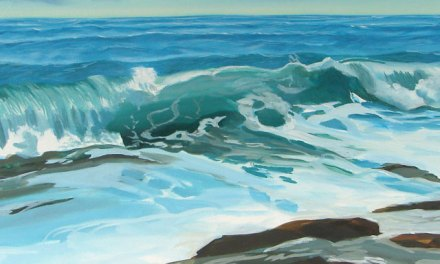 Seascape In Oil – Next Step In Painting an Ocean Wave