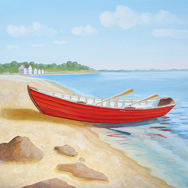 Feel Like Your Moments to the Beach With This Shore Inspired Painting