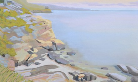 Oil Painting of Rocky Shore-Follow Along Step by Step As I Paint A Seascape