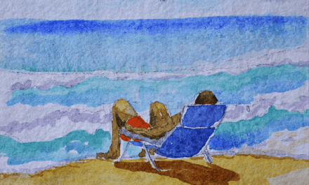 How To Paint A Beach Watercolor