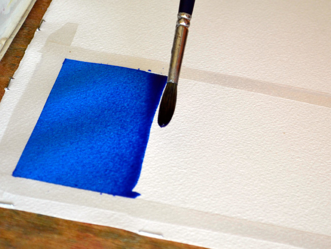 How to Paint a Watercolor Wash
