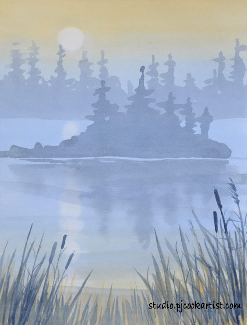 how to paint fog tutorial