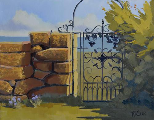 Harkness Park Landscape Painting