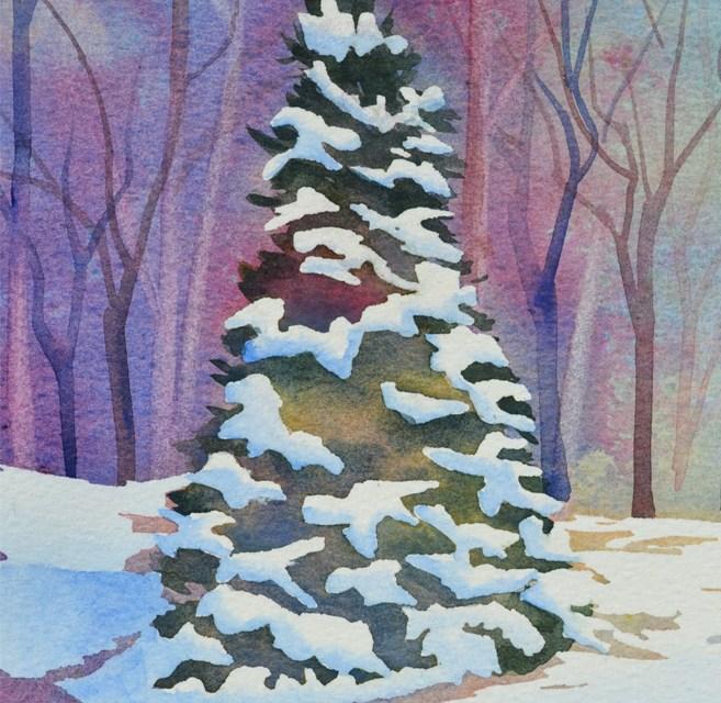 """FIRST SNOW"" Winter Landscape"