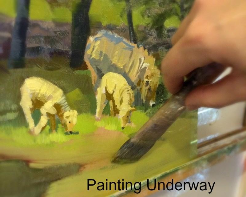 Try Big Brush Painting