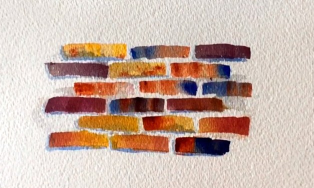 How to Paint Brick Texture Tutorial
