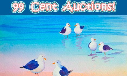 Two 99 CENT Auctions Going On Now