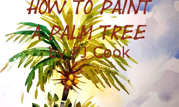 New Video How to Paint a Palm Tree