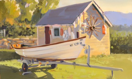 Latest Painting Waterside Collection