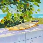 Surfboard at Ft Lauderdale Beach