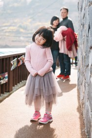 Busan Gamcheon Village Cherry Blossom Family Photographer-14