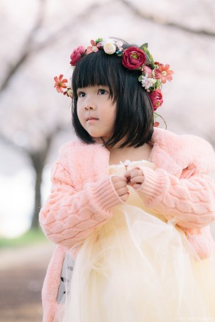 Busan Gamcheon Village Cherry Blossom Family Photographer-15