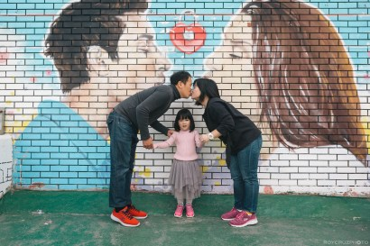 Busan Gamcheon Village Cherry Blossom Family Photographer-6