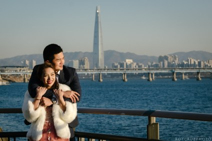 Seoul Forest Han River Engagement Photographer-15
