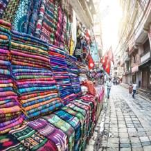 Yak Wool Blankets and Shawls from Kathmandu