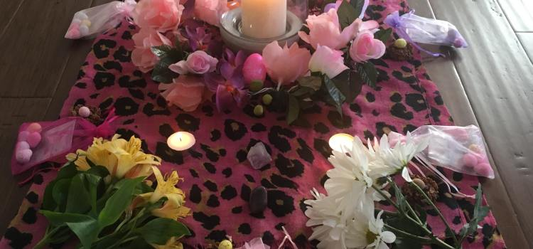 A Kitsch Witch and Shine On Yoga: Spring Equinox Workshop