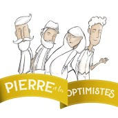 illustratie cover art Pierre et les optimistes