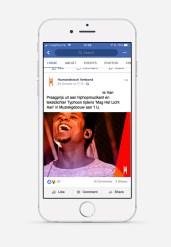 Humanistisch Verbond ontwerp social media post grid