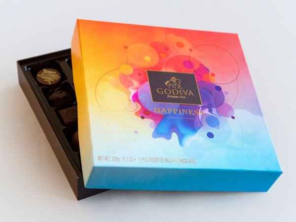Godiva Happiness - Packaging Design