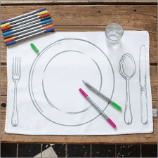 writable placemats