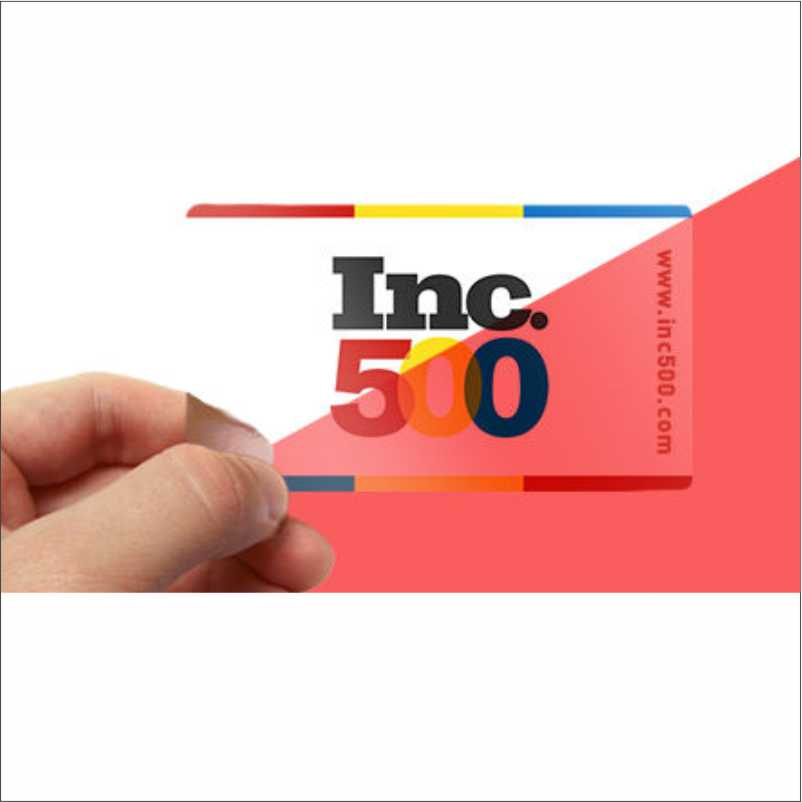 Print Transparent Business Cards in Worthing - Studio 13