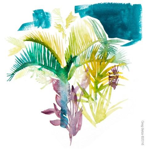 Hawaii | Greg Betza Ilustration