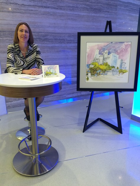 CHASE EVENT AT THE OCULUS | Veronica Lawlor