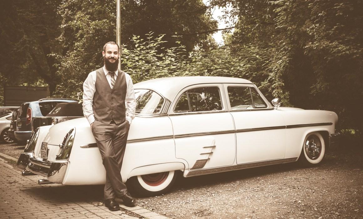 Brautfahrzeug Mieten Hochzeitsfahrt Oldtimer Witten Hattingen Mercury
