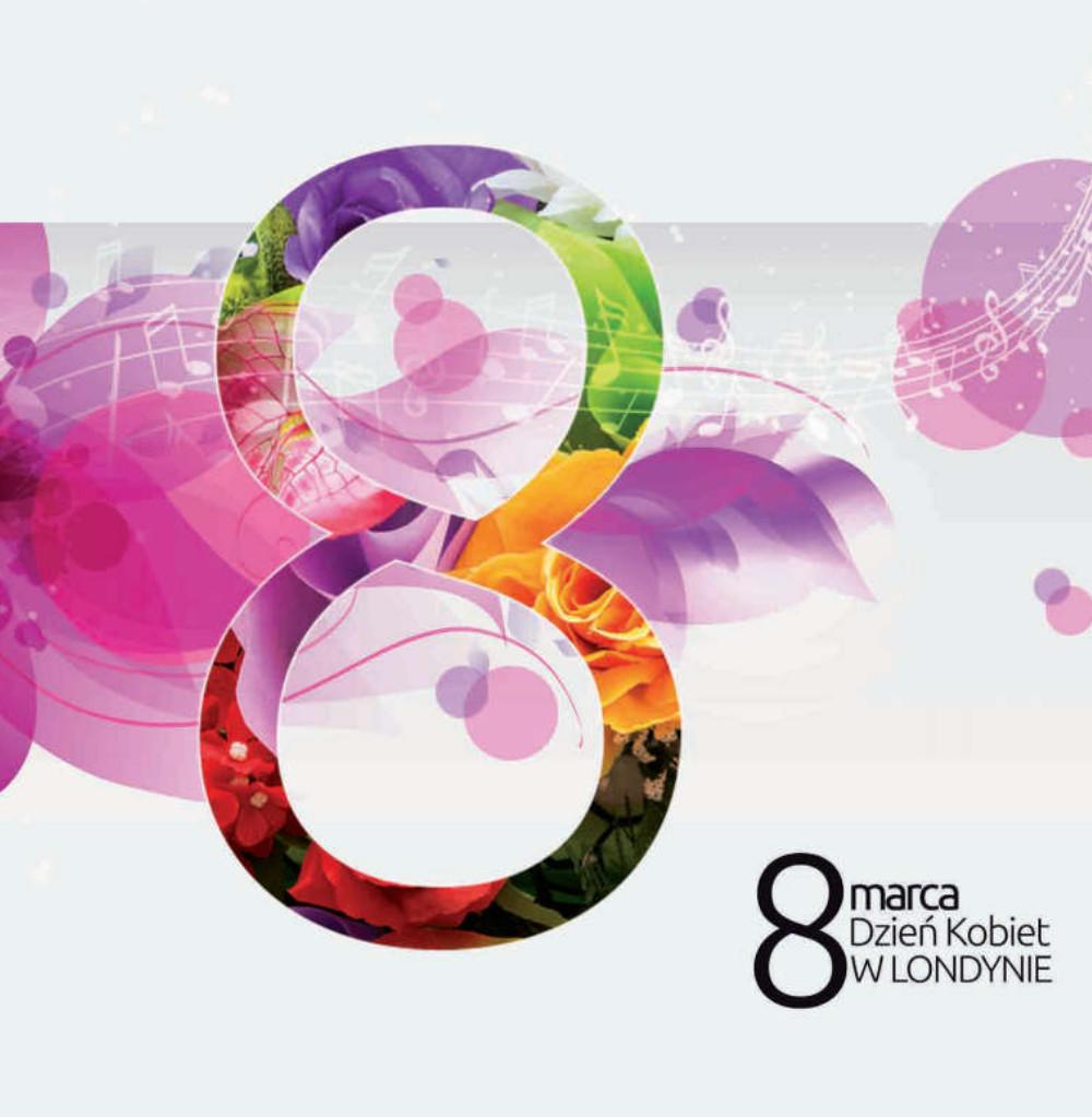 projekt plakatu na dzień kobiet w Londynie - studio24