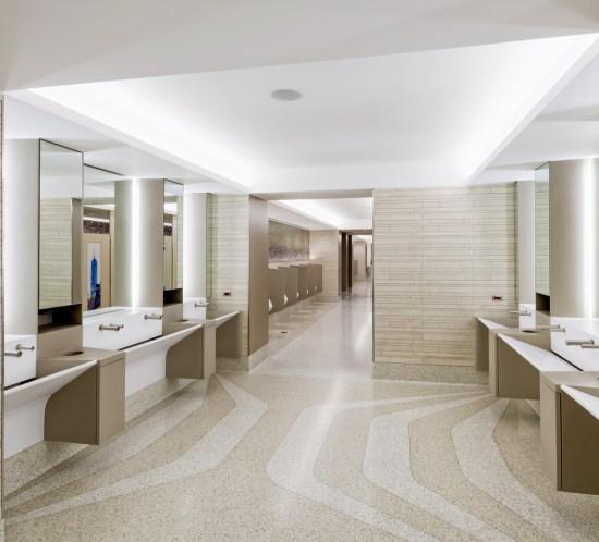 La Guardia restroom