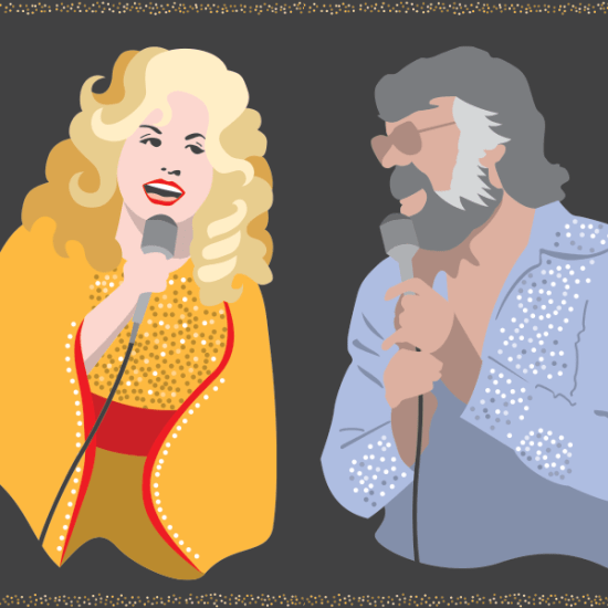 illustration of Dolly and Kenny