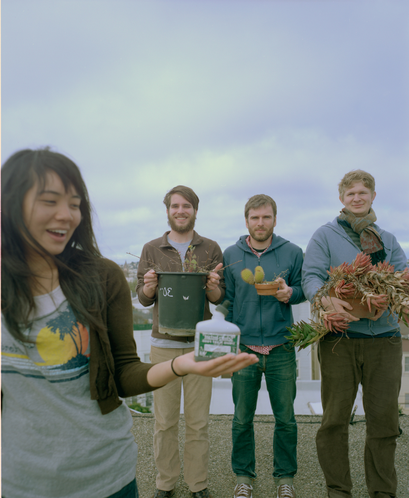 Thao and the Get Down Stay Down get up on the roof