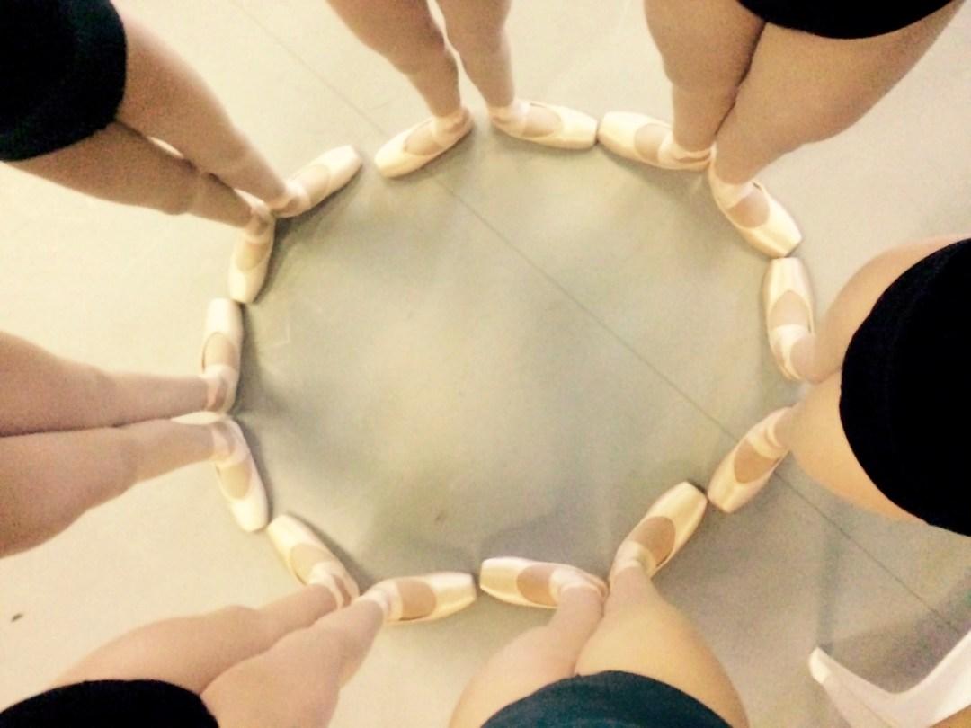 Ballet Shoes 1st Positions