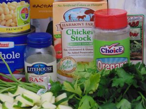 Low-Cal Minestrone Soup Ingredients