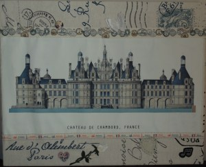 chateau de chambord craft project