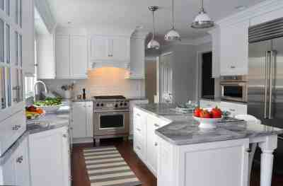 Traditional Kitchen, white