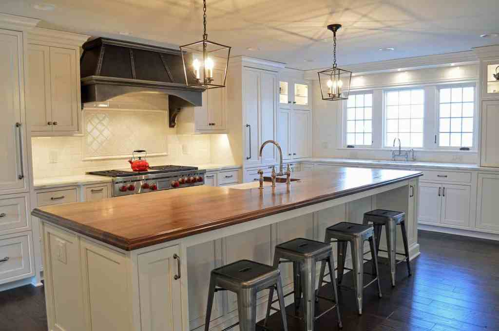 Kitchen Designs with Wood Countertops