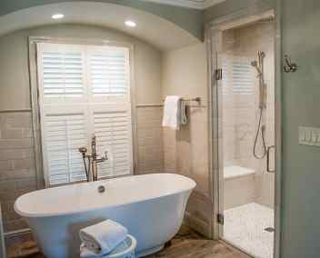 Farmhouse bath and walk in shower