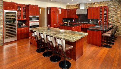 Contemporary style NEFF cabinets