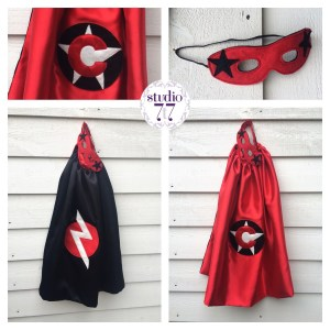 Superhero and mask set by studio 7t7