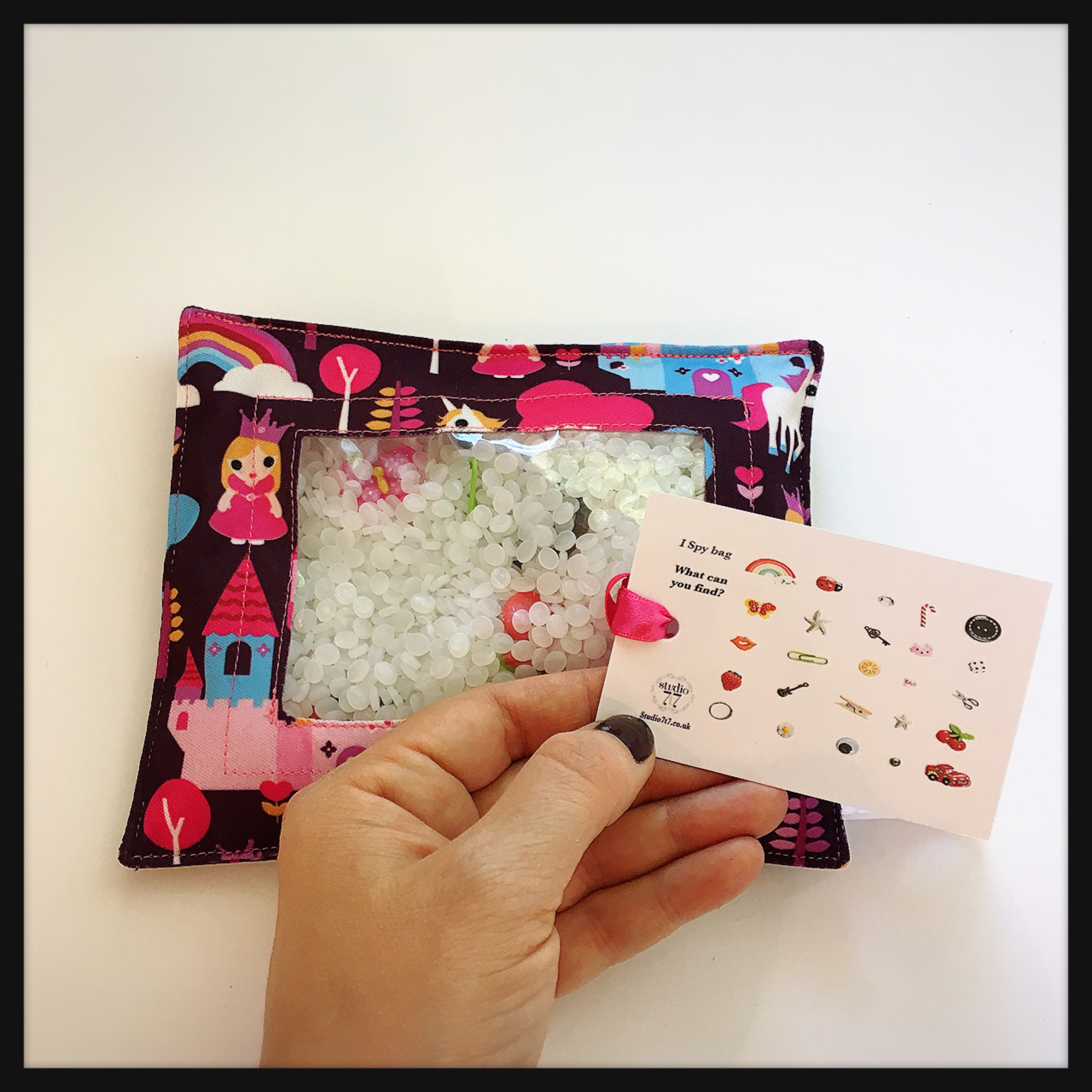 Replacement card for I spy bag