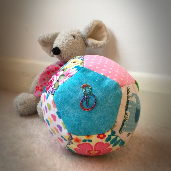 How to make a personalised baby ball.