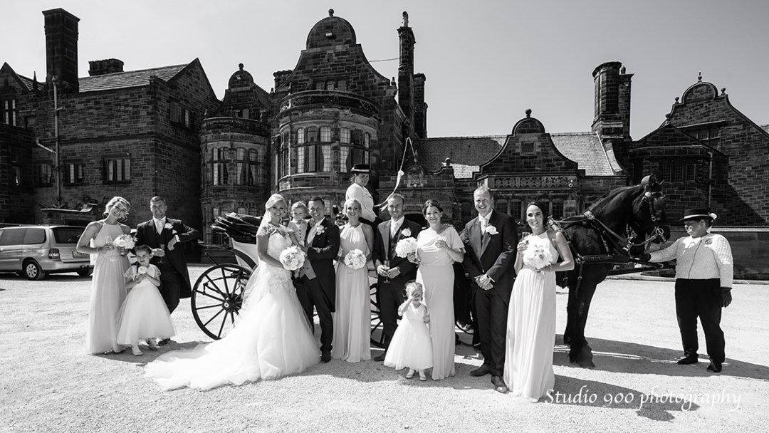 Thornton Manor House Wirral's finest wedding venue. Photography by Studio 90.