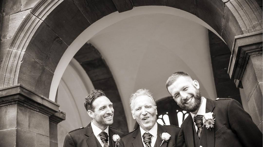 Wedding photography by Studio 900 in the gardens of Thornton Manor, Wirral. Luxury wedding venue, Best wedding Photographers