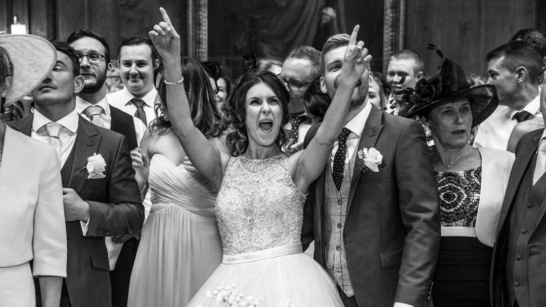Veryy Happy Bride by Studio 900 photography