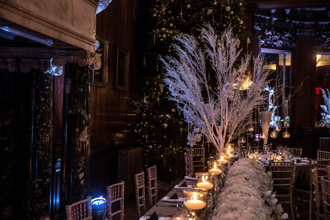 Christmas in the Music Room Thornton Manor by Studio 900 Photography