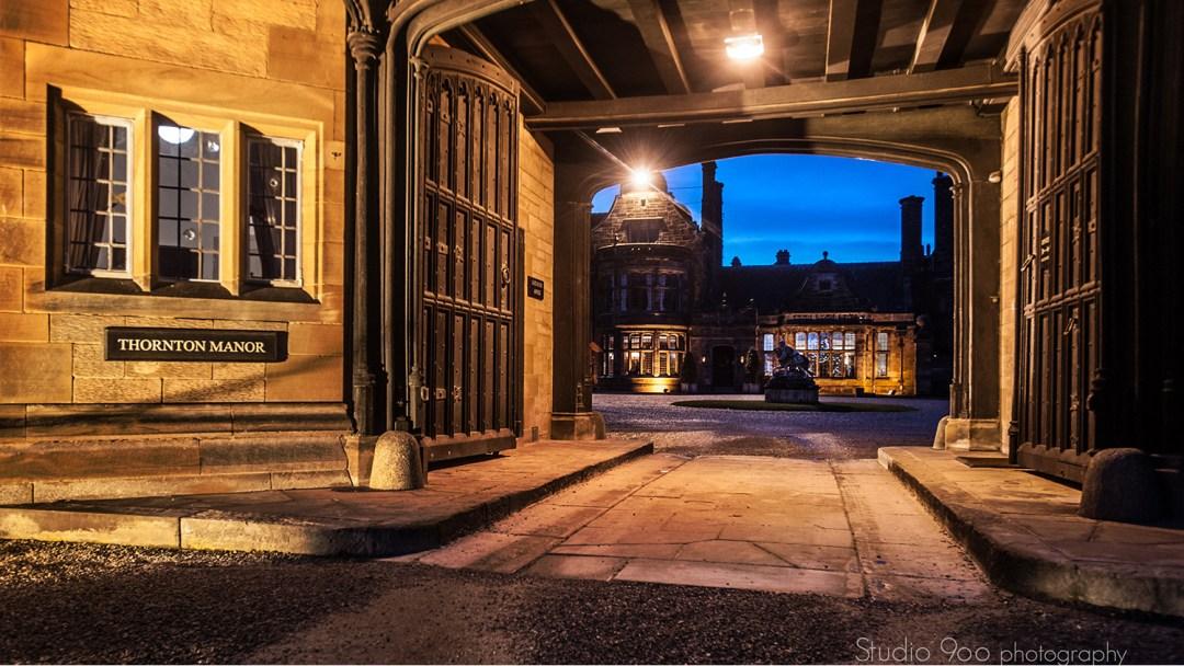 Entrance to Thornton Manor