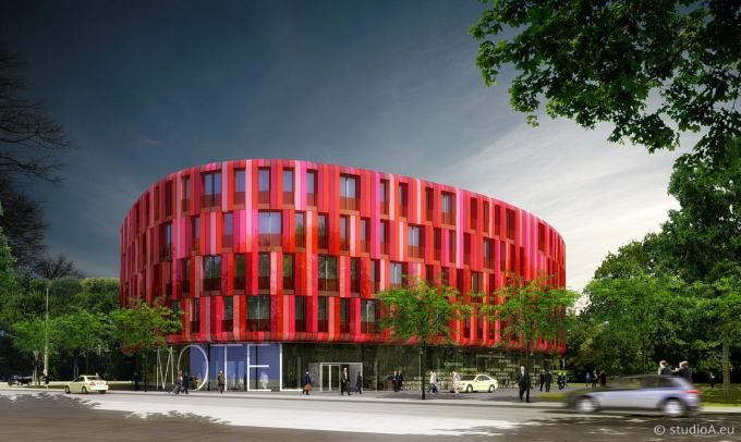 Visualisierung Motel in Kassel, Bieling Architekten